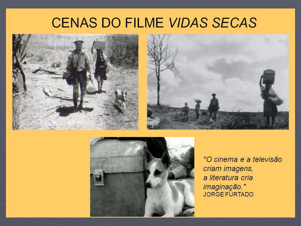 O cinema e a televisão criam imagens, a literatura cria imaginação.