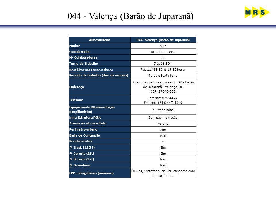 044 - Valença (Barão de Juparanã)