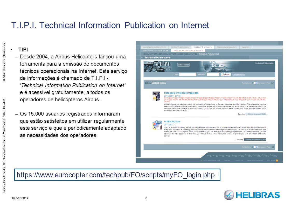 T.I.P.I. Technical Information Publication on Internet