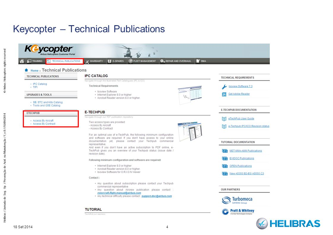 Keycopter – Technical Publications
