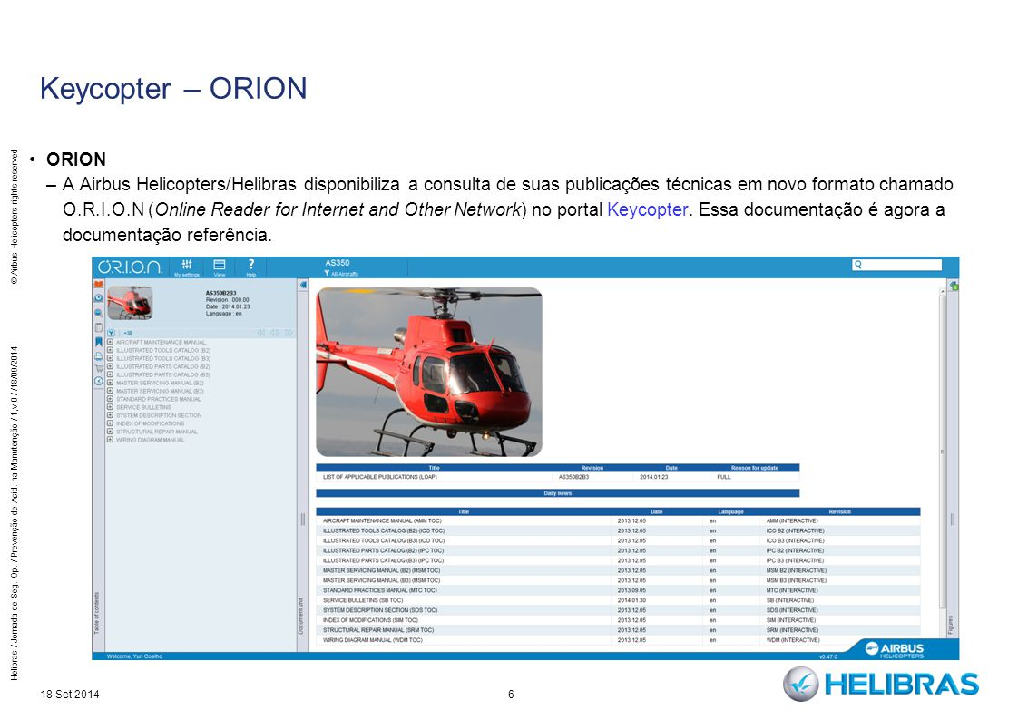 Keycopter – ORION ORION