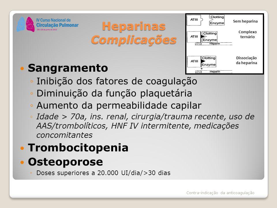 Heparinas Complicações