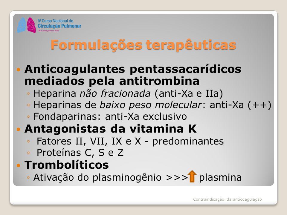 Formulações terapêuticas