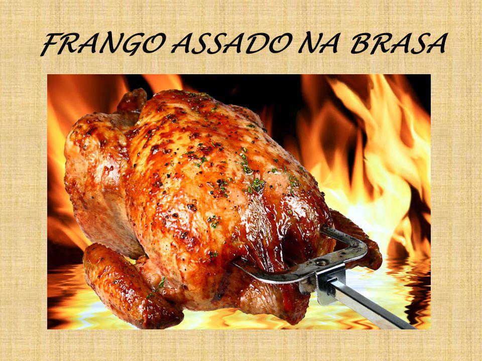 FRANGO ASSADO NA BRASA