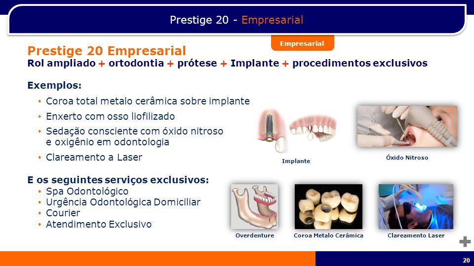 Prestige 20 - Empresarial