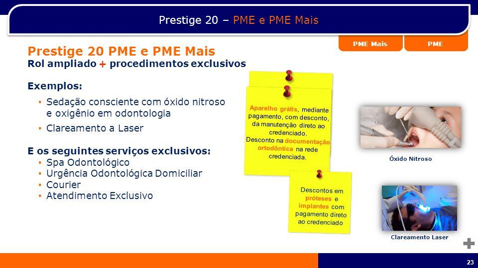 Prestige 20 PME e PME Mais Prestige 20 – PME e PME Mais