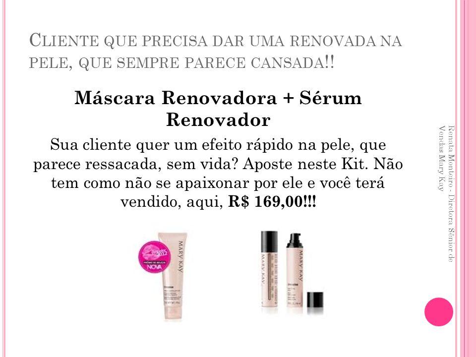 Máscara Renovadora + Sérum Renovador