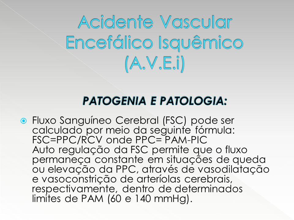 Acidente Vascular Encefálico Isquêmico (A. V. E