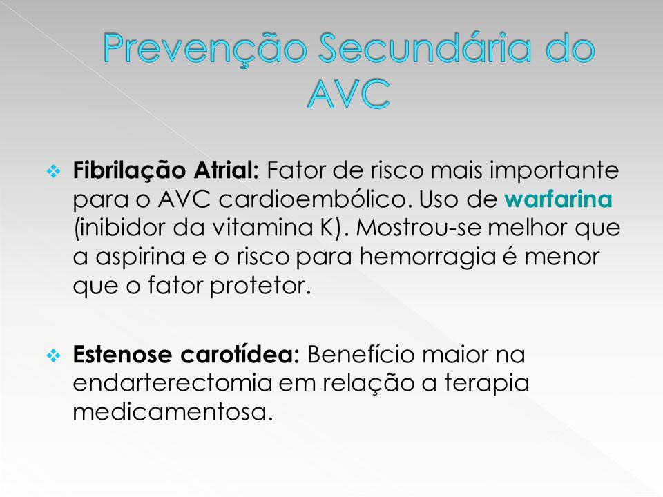 Prevenção Secundária do AVC