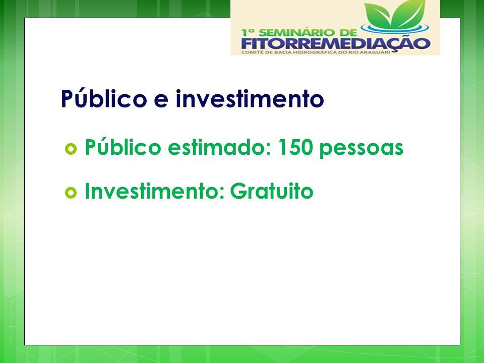 Público e investimento