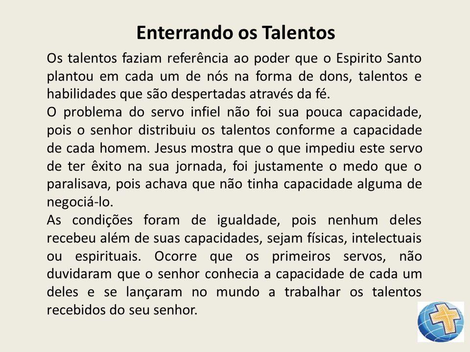 Enterrando os Talentos