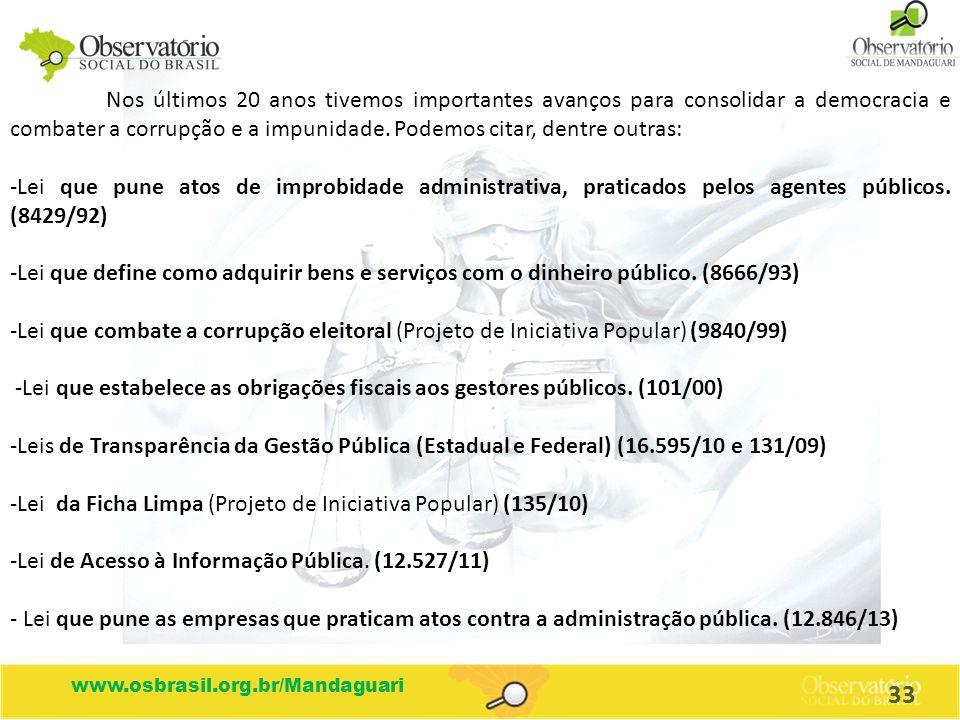 Lei da Ficha Limpa (Projeto de Iniciativa Popular) (135/10)
