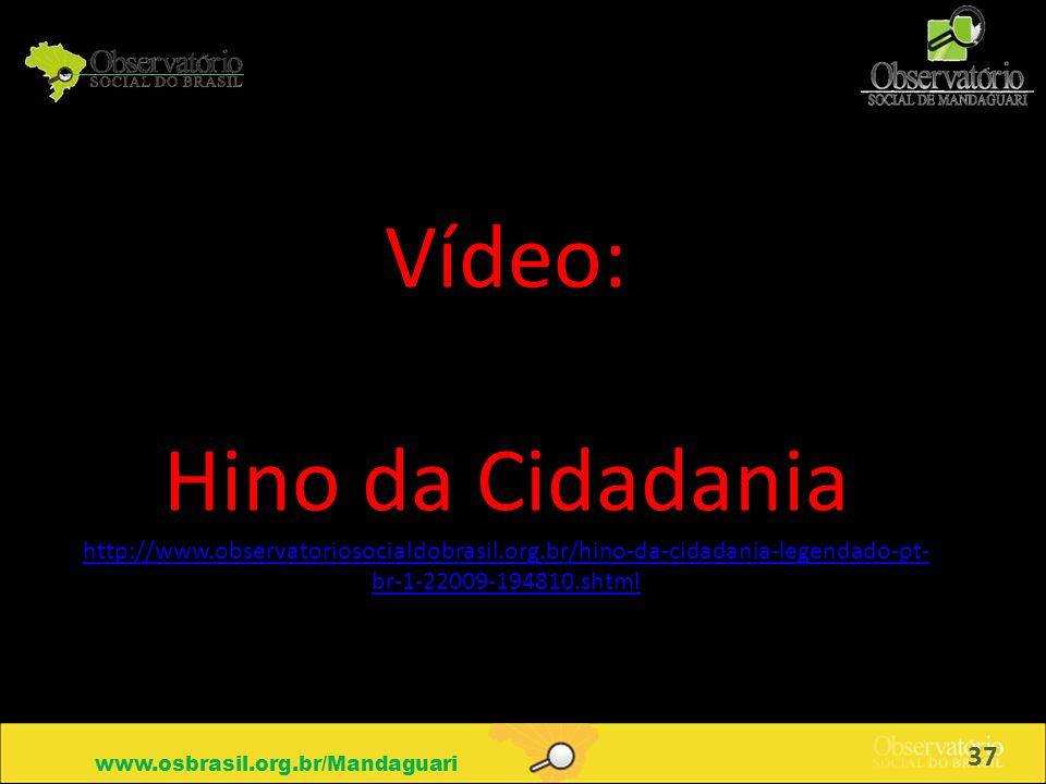 Vídeo: Hino da Cidadania