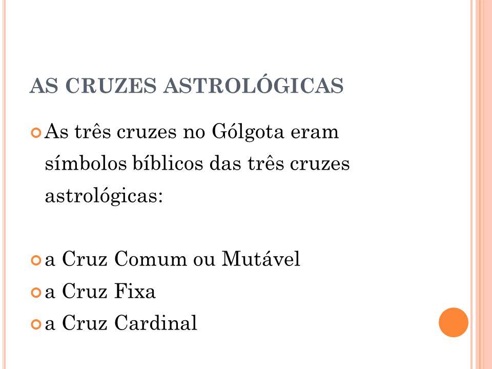 AS CRUZES ASTROLÓGICAS
