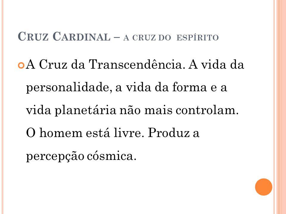 Cruz Cardinal – a cruz do espírito