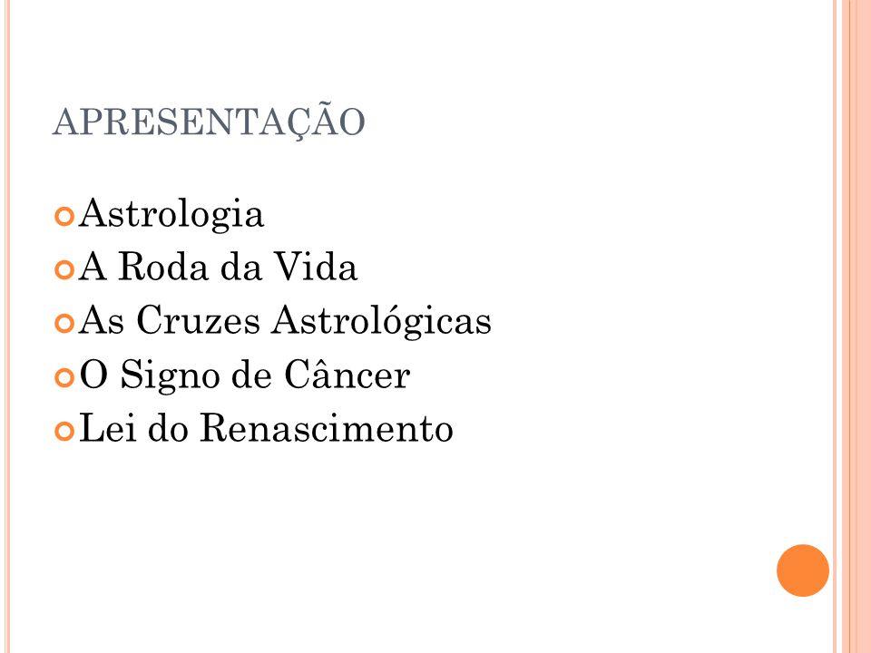 As Cruzes Astrológicas O Signo de Câncer Lei do Renascimento