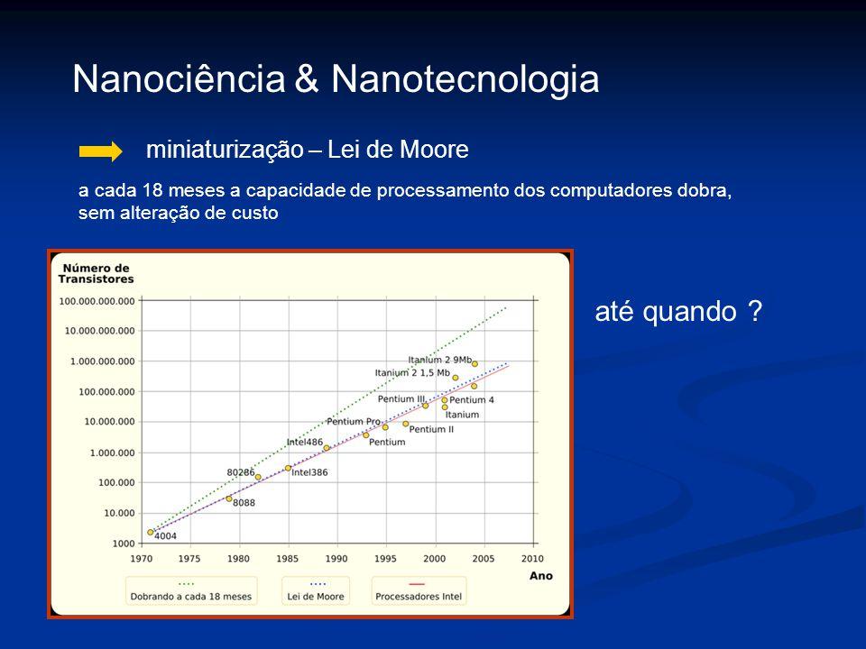 Nanociência & Nanotecnologia