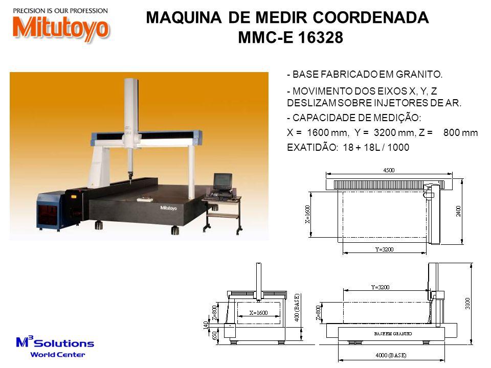 MAQUINA DE MEDIR COORDENADA
