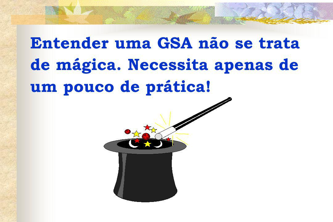 Entender uma GSA não se trata de mágica