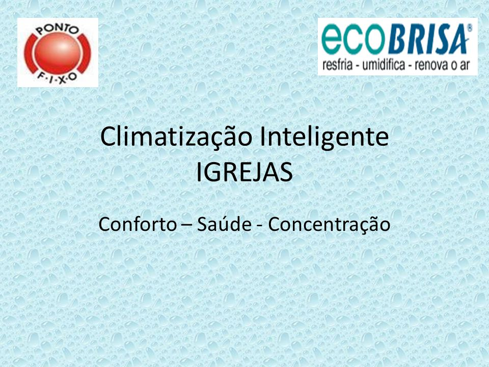 Climatização Inteligente IGREJAS