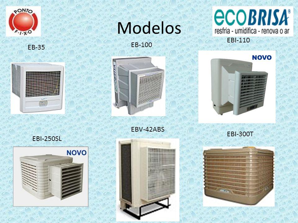 Modelos EBI-110 EB-100 EB-35 EBV-42ABS EBI-300T EBI-250SL
