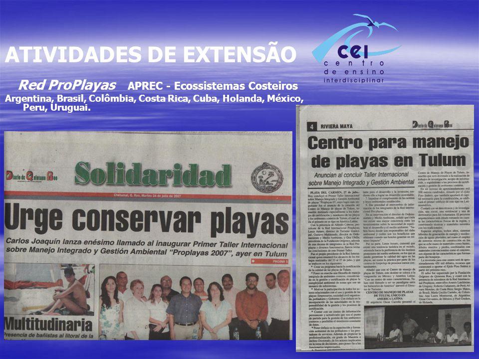 Red ProPlayas APREC - Ecossistemas Costeiros