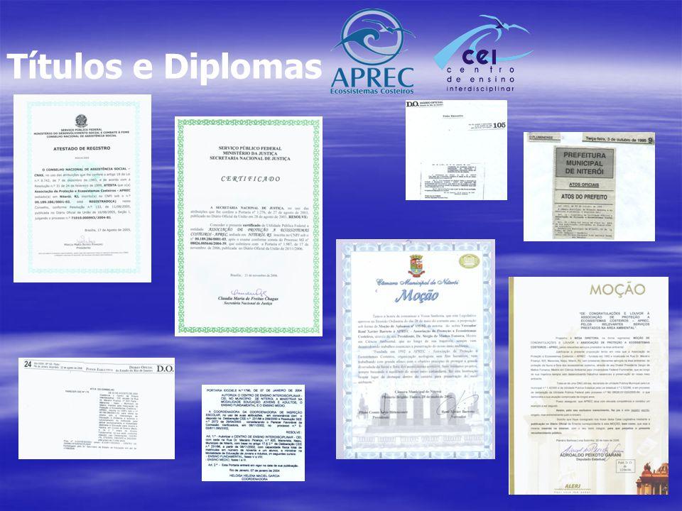 Títulos e Diplomas
