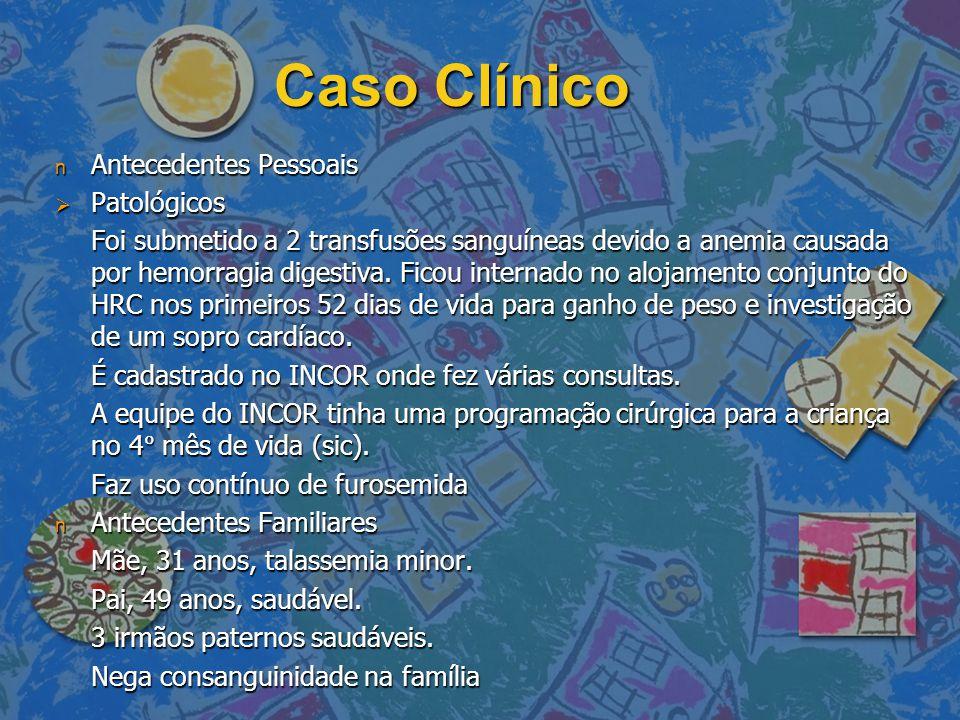 Caso Clínico Antecedentes Pessoais Patológicos