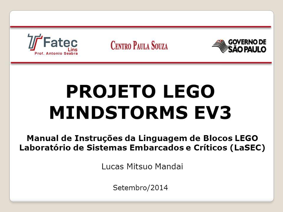 PROJETO LEGO MINDSTORMS EV3