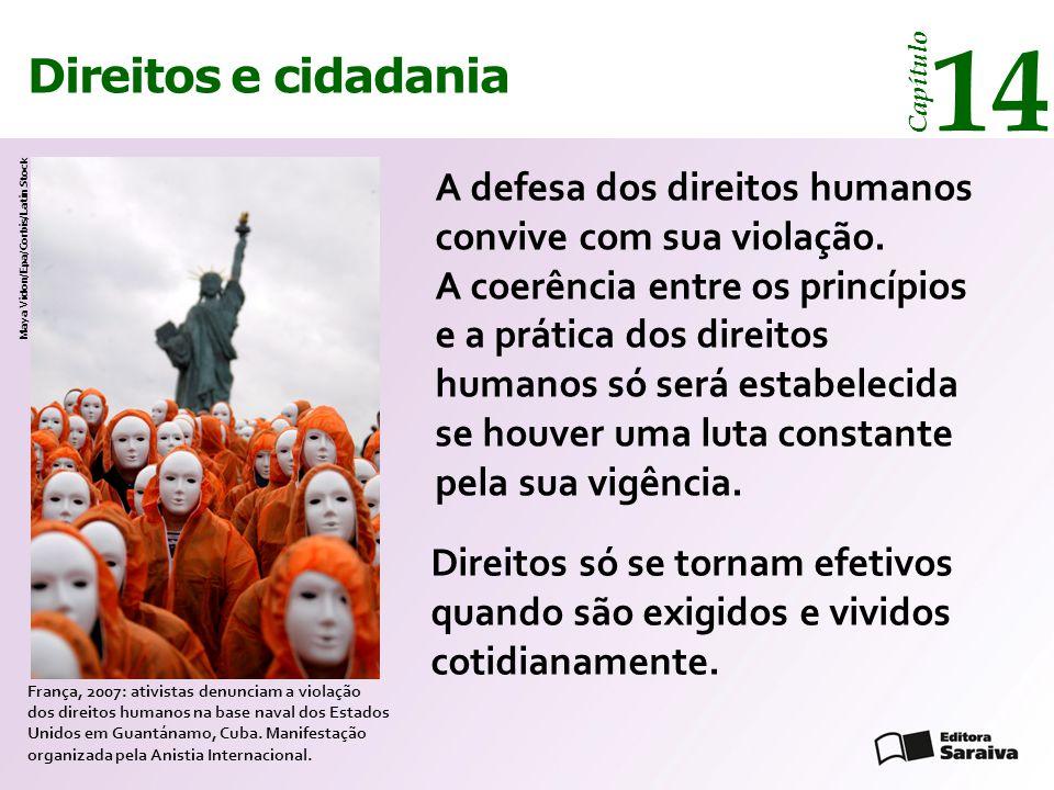 14 14 Direitos e cidadania Direitos e cidadania