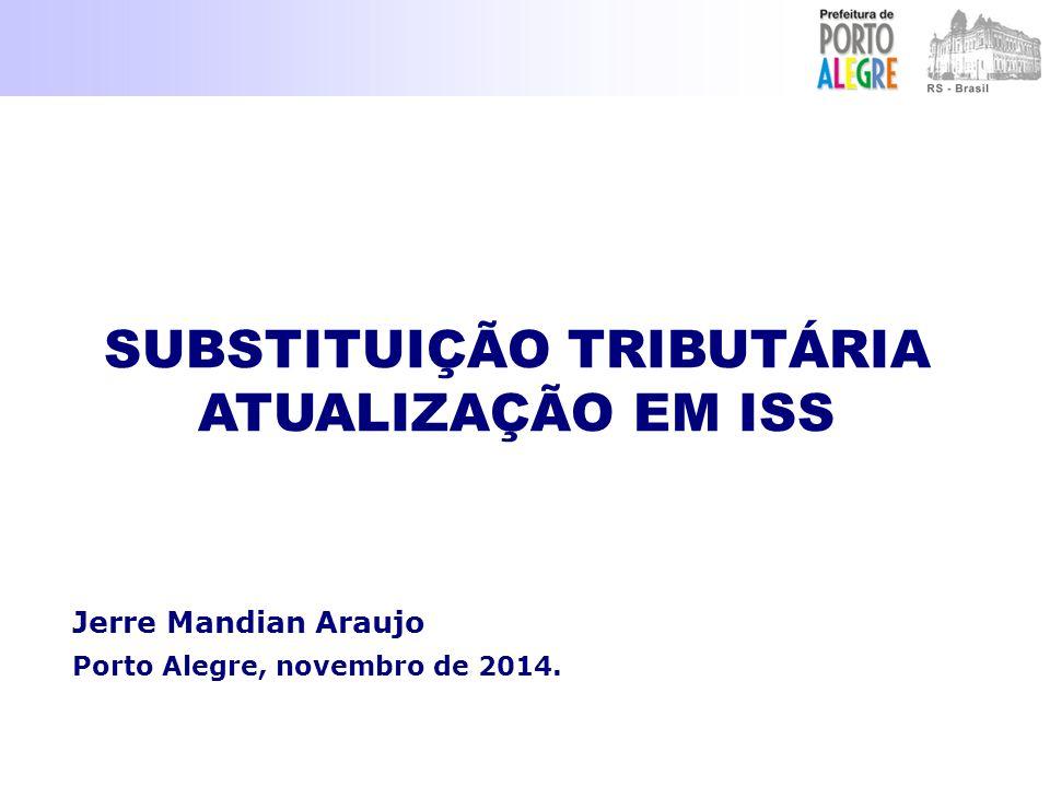 Jerre Mandian Araujo Porto Alegre, novembro de 2014.