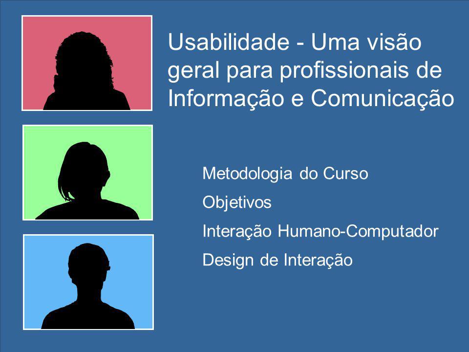 Usabilidade - Uma visão geral para profissionais de Informação e Comunicação