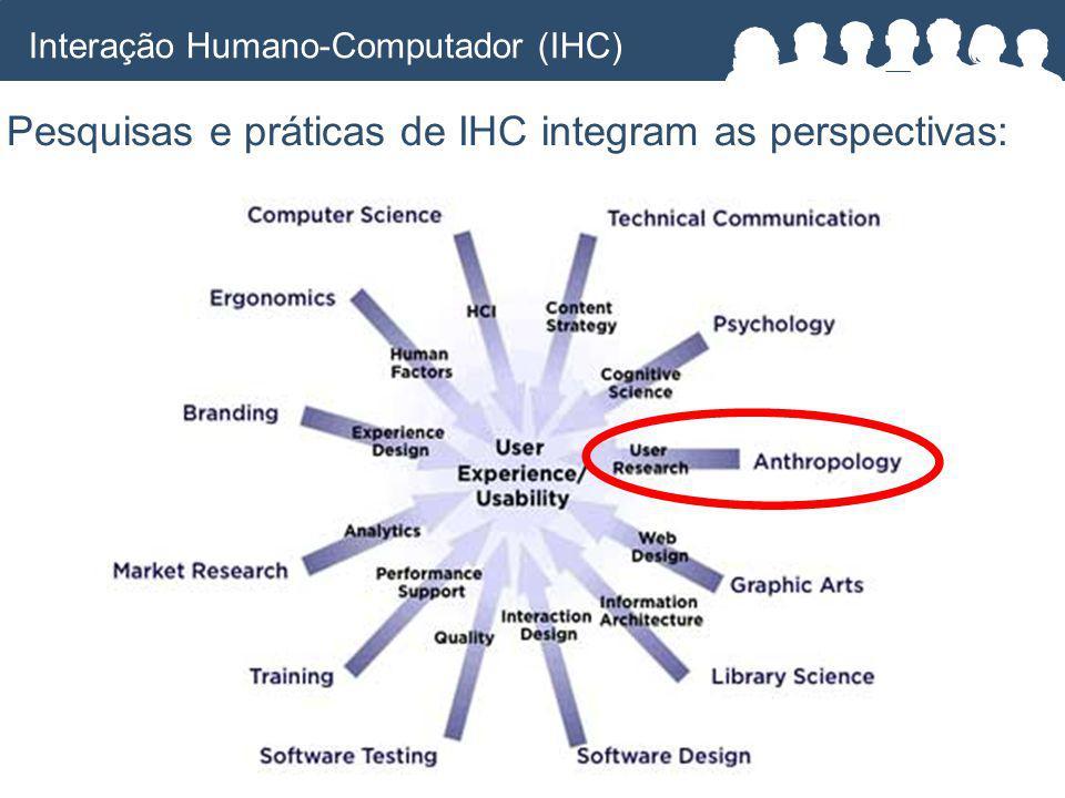 Pesquisas e práticas de IHC integram as perspectivas: