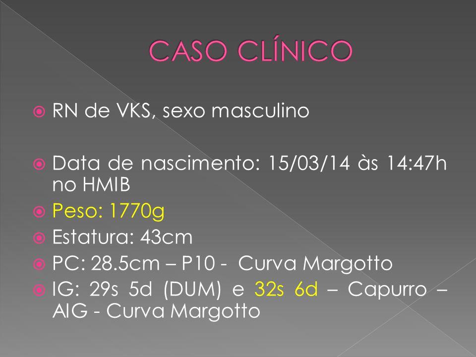 CASO CLÍNICO RN de VKS, sexo masculino