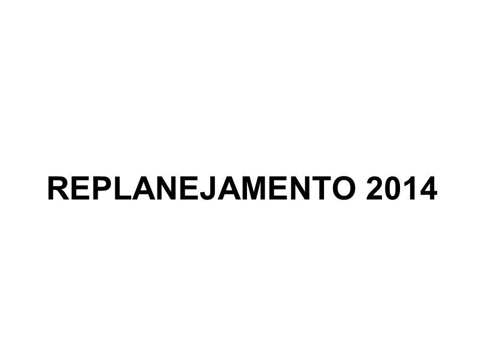 REPLANEJAMENTO 2014 1