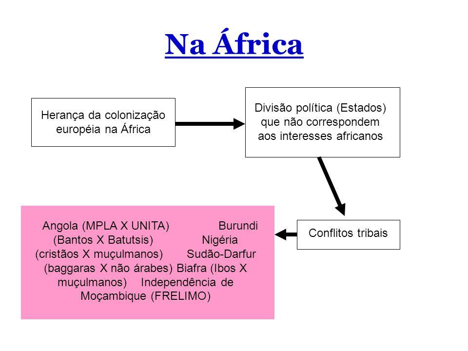 Herança da colonização européia na África