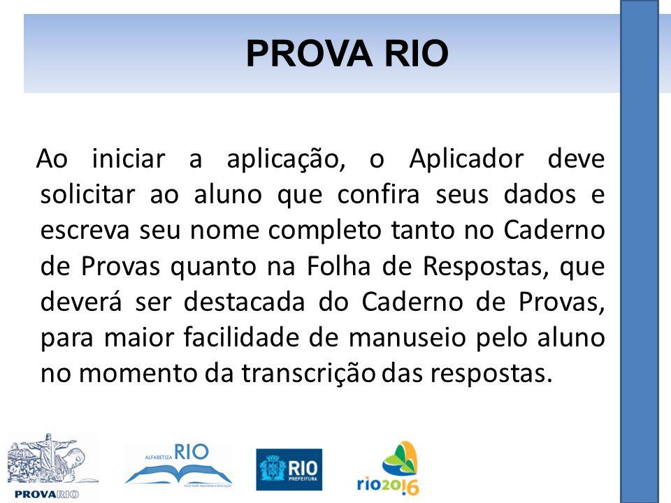 PROVA RIO