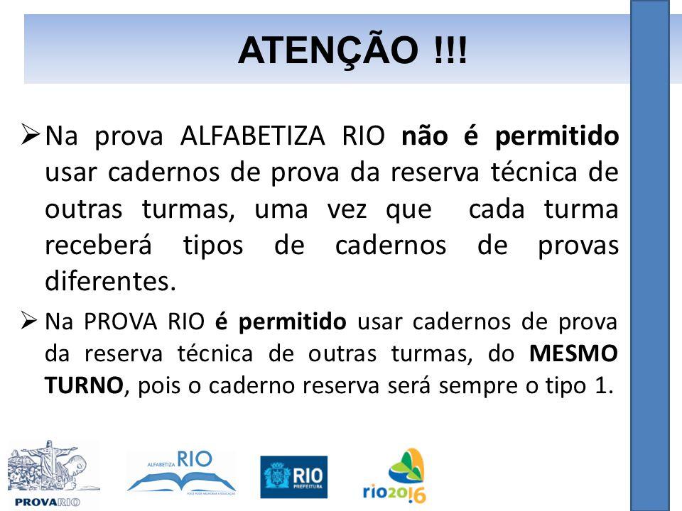 ATENÇÃO !!!