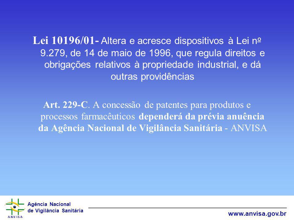 Lei 10196/01- Altera e acresce dispositivos à Lei no 9