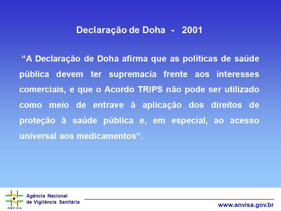Declaração de Doha - 2001