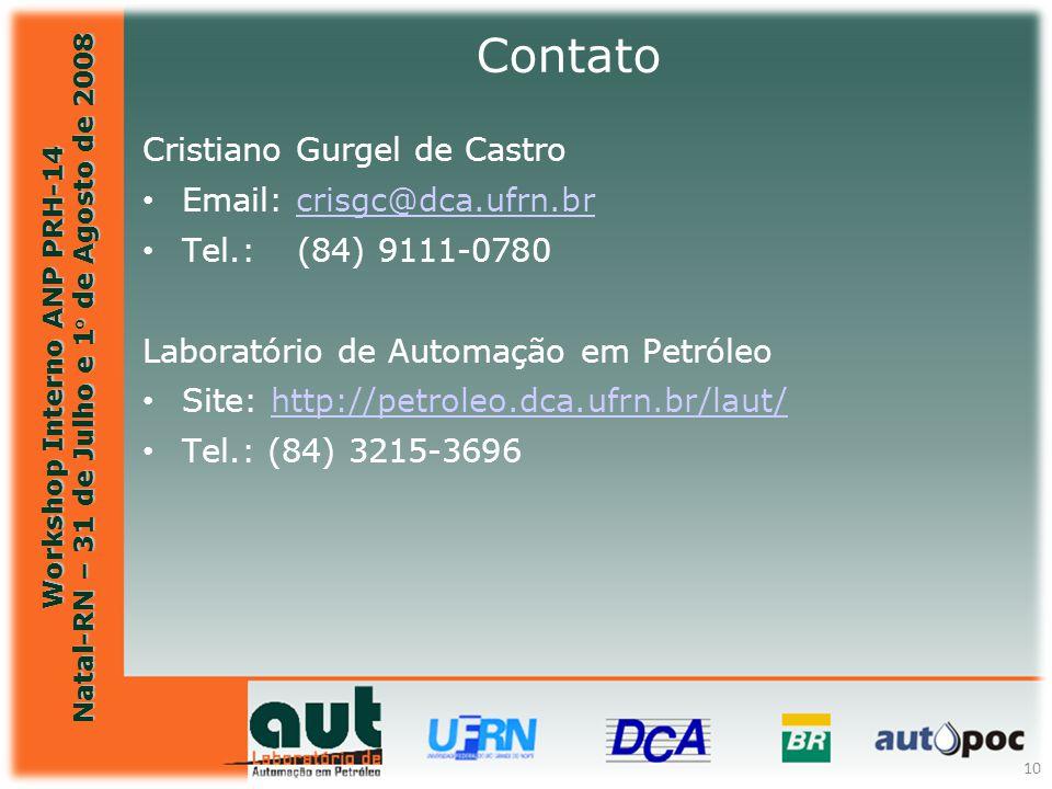 Contato Cristiano Gurgel de Castro