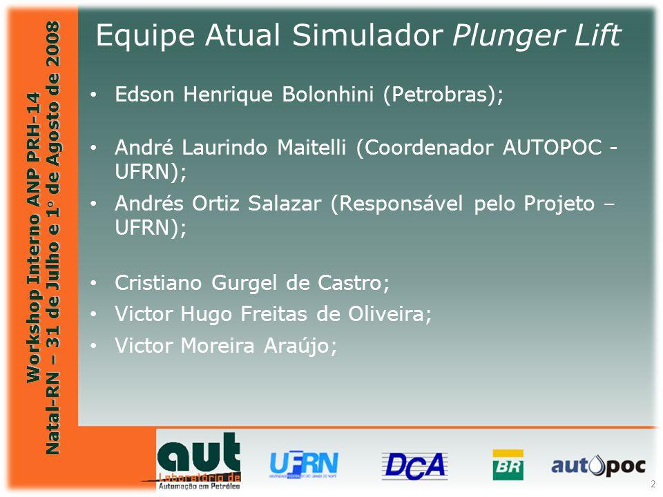 Equipe Atual Simulador Plunger Lift