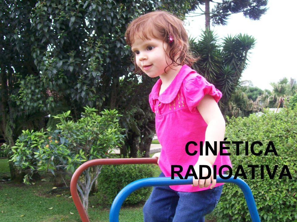 CINÉTICA RADIOATIVA