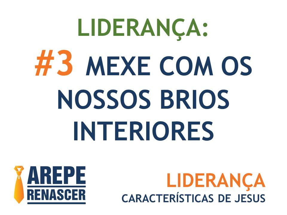 #3 MEXE COM OS NOSSOS BRIOS INTERIORES LIDERANÇA: LIDERANÇA