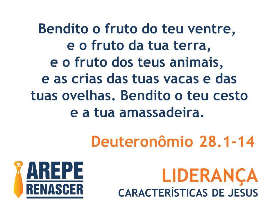 LIDERANÇA Deuteronômio 28.1-14 Bendito o fruto do teu ventre,