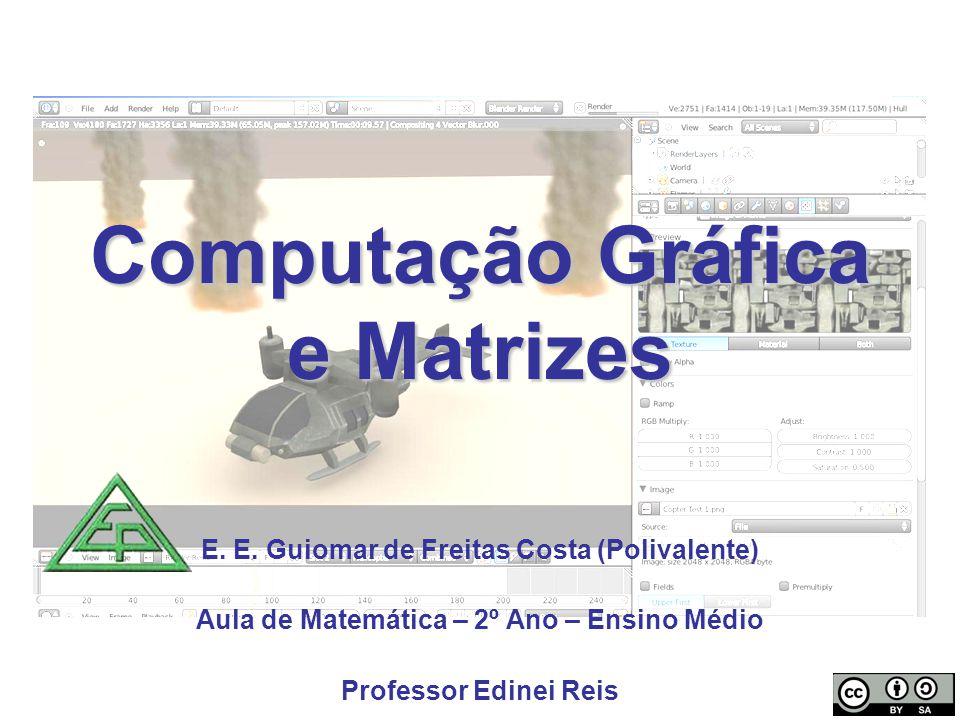 Computação Gráfica e Matrizes