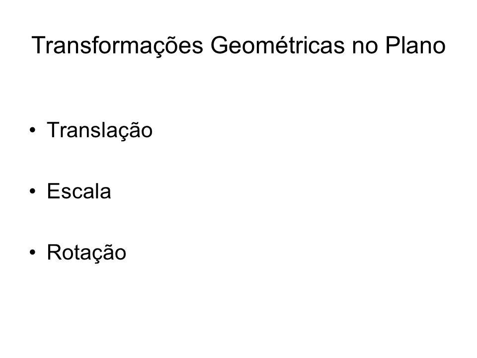 Transformações Geométricas no Plano