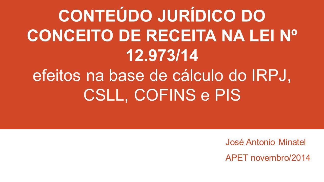 José Antonio Minatel APET novembro/2014