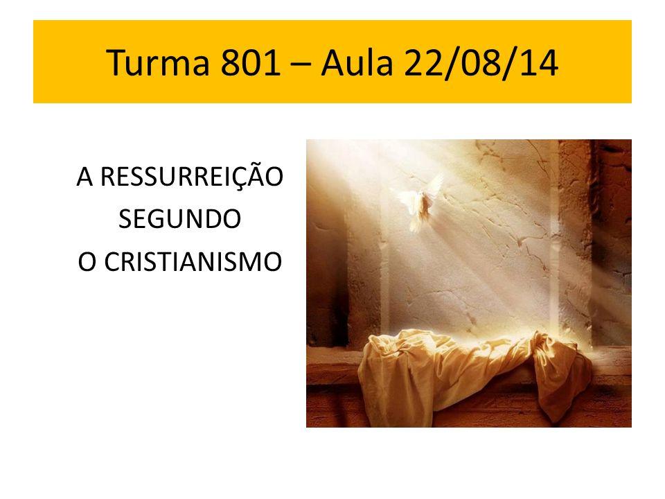 A RESSURREIÇÃO SEGUNDO O CRISTIANISMO