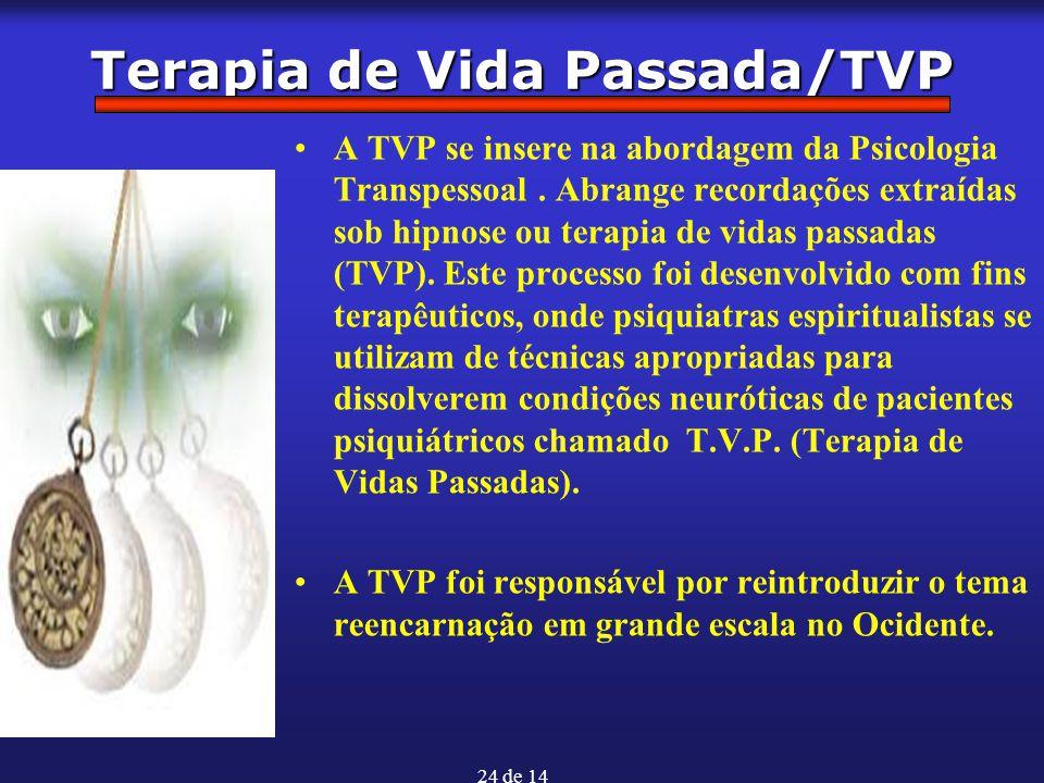 Terapia de Vida Passada/TVP